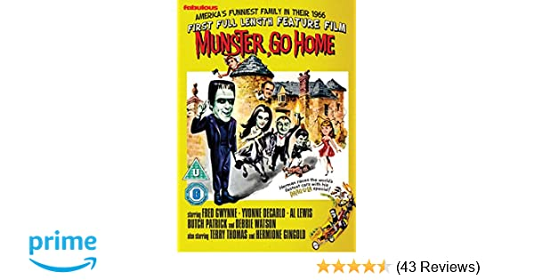 munsters go home 1966