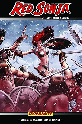 Red Sonja: She-Devil with a Sword Volume 10: Machines of Empire (Red Sonja 10)