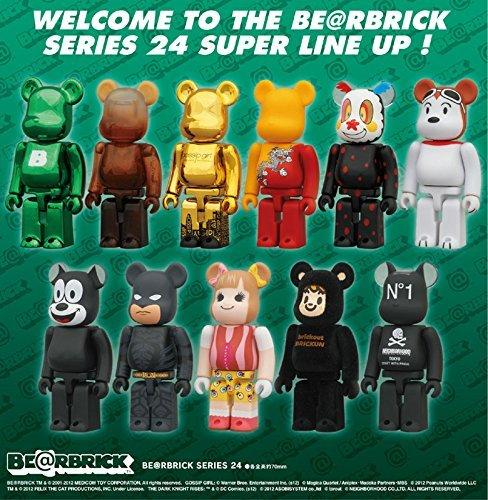 Bearbrick Series 24 Boite de 24 figurines