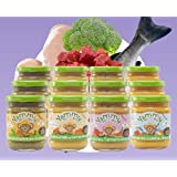 Yammy, Pack Potitos Comida (Verduras, Pollo, Ternera y Lubina) - 12 de 195 gr. (Total 2340 gr.)