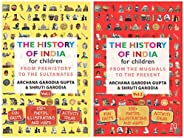 The History of India for Children - Vol. 1 & 2 (Set of 2 bo