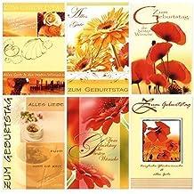 51-1176 Geburtstagskarten Geburtstagskarte Glückwunschkarten Grußkarten Karten