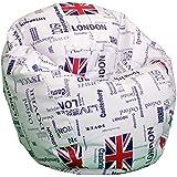 Puff Pelota 60cm diámetro (London)