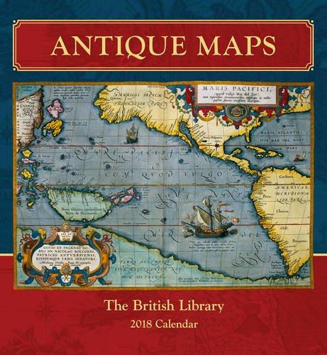 Antique Maps 2018 Calendar