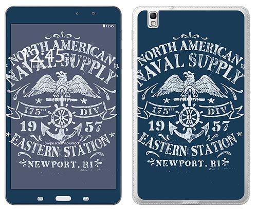 Preisvergleich Produktbild 'Royal Wandtattoo RS. Schwimmhilfe Auftriebshilfe Flotation selbstklebend für Samsung Tab Pro 8,4Motiv Naval Supply