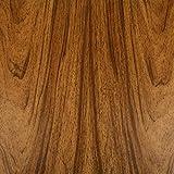 Venilia adesiva Mobili Pellicola decorativa Pellicola autoadesiva di carta da parati, in PVC effetto legno, colore: noce, 45cm X 3m 53150, Marrone, 300x 45cm