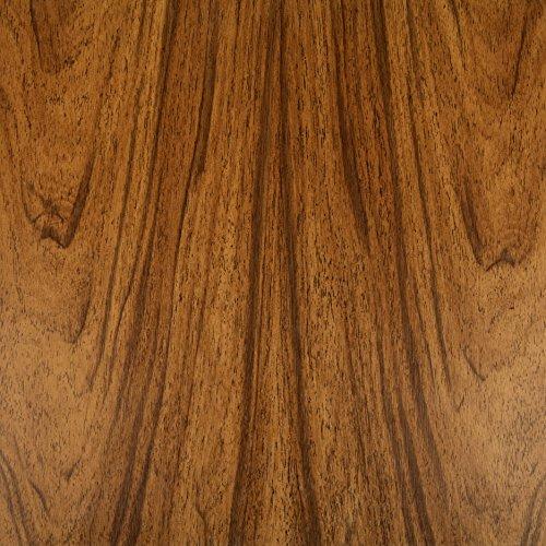 Klebefolie NUSS Dekofolie Möbelfolie Tapeten selbstklebende Folie, PVC, ohne Phthalate, Natur-Holzoptik braun, 45cm x 3m, 95µm (Stärke: 0,095 mm), Venilia 53150