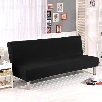 Surenhap - Copridivano elasticizzato senza braccioli per divano a 3 ...