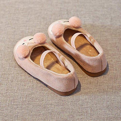 cartoon Bambino ragazze scarpe Pink carino principessa casual Jamicy cotone xIn4Cd