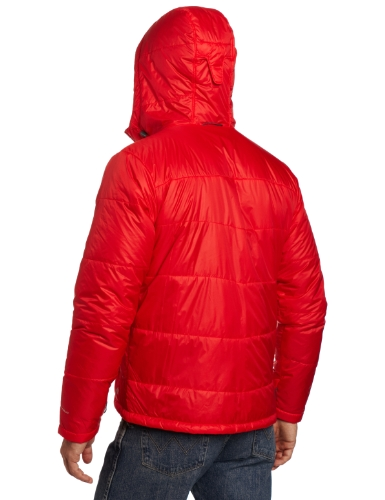 Columbia Mens Shimmer Me Timbers II Hooded Jacket Bright Red