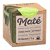 Yerba Maté Extrakt - Lösliches Erfrischungsgetränk, Grüner Tee - 30 Beutel / 2g. Natürlich zuckerfreier Energy Booster. Auch super für Eistee/Mix-Drinks/Cocktails. Mit Liebe zubereitet.