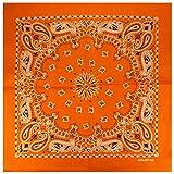 Alex Flittner Designs Bandana mit exclusivem Paisley Muster in orange