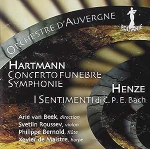 Symphonie N° 4 - Concerto Funebre - I Sentimenti Di C. P. E. Bach [Import allemand]