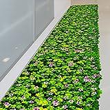 Deyimr 3D Dreidimensionale Klee-Weide, Fußboden-Brett, Küchen-Badezimmer, Wasserdichte Und Tragbare Wand-Aufkleber.