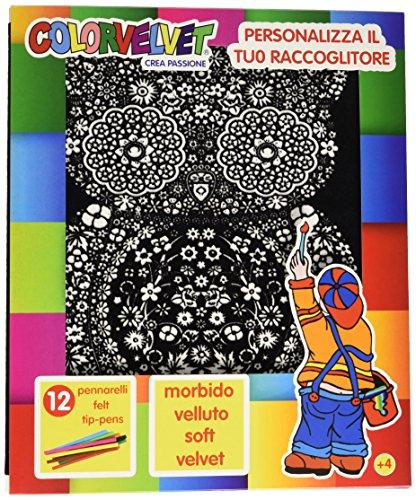 Colorvelvet - C21 Raccoglitore ad Anelli Gufo