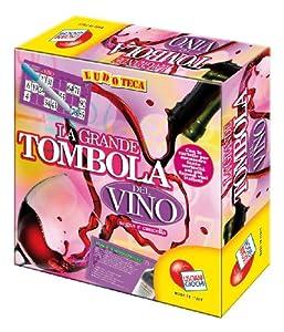 Liscianigiochi 32778 Ludoteca - Tómbola del Vino (48 cartones) Importado de Italia