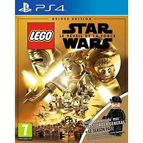 LEGO Star Wars : Le Réveil de la Force - Deluxe Edition First Order General Jeu PS4 (Lego Star Wars Video Game Ps4)
