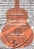Meine ersten Gitarrenstücke - Heft 1: Meister der Klassik -