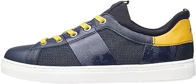 Nero Giardini A833260M Sneakers Teens da Ragazzo in Pelle E Tessuto Tecnico