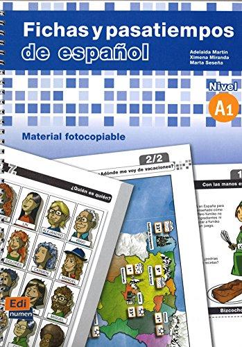 Fichas y pasatiempos de español (Material Complementario)