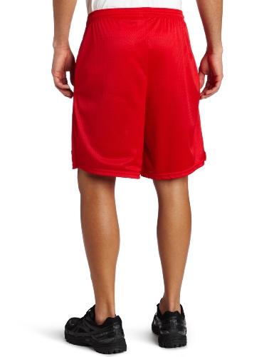 Champion–Giacca lunga maglia corta con tasche Crimson