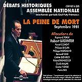 La peine de mort : débats de l'Assemblée Nationale en septembre 1981