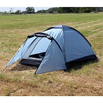 North Gear C&ing Mono 2 Man Waterproof Tent Blue & North Gear Camping Mono 2 Man Waterproof Tent Blue: Amazon.co.uk ...