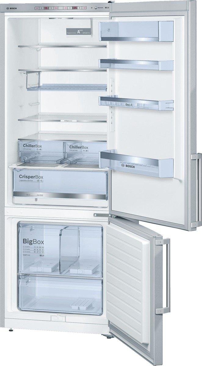 Bosch KGE58BI40 Serie 6 Freistehende XXL-Kühl-Gefrier-Kombination / A+++ / 191 x 70 cm / 196 kWh/Jahr / Inox…