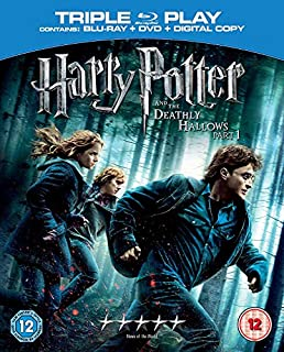 Harry Potter and the Deathly Hallows, Part 1 (Blu-ray + DVD) [2010] [Region Free] (B003U9VLL0)   Amazon price tracker / tracking, Amazon price history charts, Amazon price watches, Amazon price drop alerts