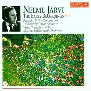 Neeme Jarvi The Early Recordings Volume 2: Tchaikovsky  Violin Concerto / Paganini Violin Concerto No.1