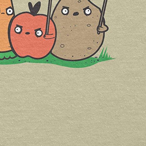 Texlab–Angry Plants–sacchetto di stoffa Naturale