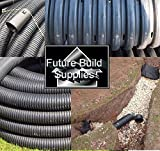 Perforated Land Drainage Piping Coil Pipe (25M x 60mm)