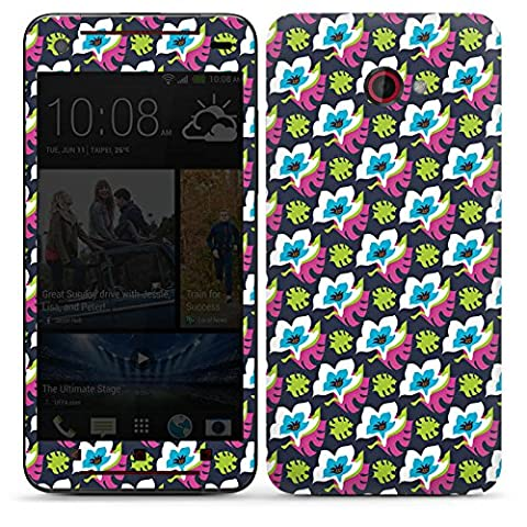 HTC Butterfly S Adhesive Protective Film Design Sticker Skin Flowers