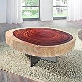 Design - Couchtisch »FOREST« aus massiver Akazien Baumscheibe