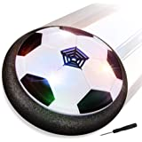 Blasland Pallone Calcio Fluttuante, Giocattoli Bambini Palla da Casa con Luci LED Hover Soccer Ball Giochi per Ragazzi Ragazz
