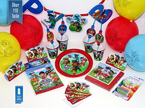 Preisvergleich Produktbild Basic-Partyset Paw Patrol für 12 Kinder
