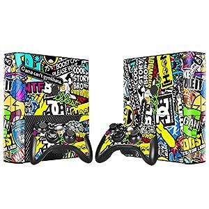 XBOX 360 E Skin Design Foils Aufkleber Schutzfolie Set – Hoonigan Motiv