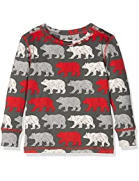 Hatley Thermal Layer Top-Red Bears, Haut Thermique Garçon