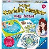 Ravensburger 29731 - Ocean Dreams 2 in 1 - Midi Mandala-Designer