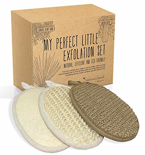 Stephanie Franck Beauty Set Baño - 3 Guantes exfoliante