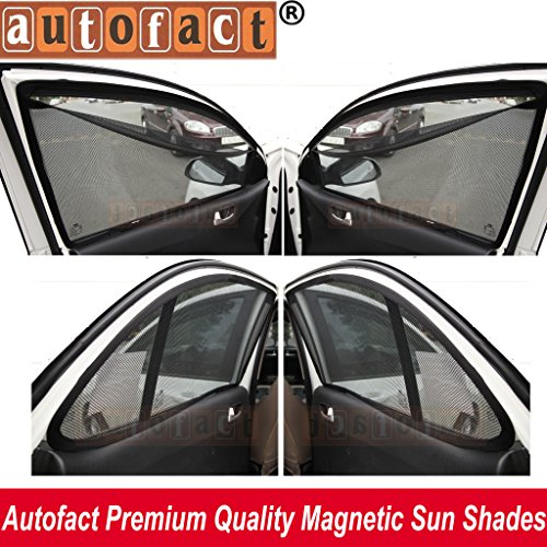 autofact magnetic window sun shades for ford fiesta new model (2011-2017) -set of 4 - with zipper AUTOFACT Magnetic Window Sun Shades for Ford Fiesta New Model (2011-2017) -Set of 4 – With Zipper 61BoQEd2fDL