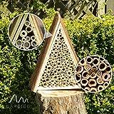 Gardigo Bienenhotel, Bienen-Insektenhotel, Bienenhaus zum Nisten und Überwintern - 2