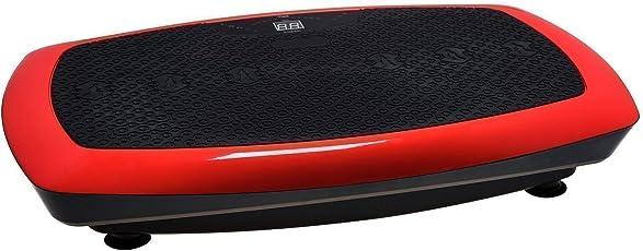 VibroSlim Radial 3D Vibrationsmaschine Plattform Power Fitnessmaschine - 3 Jahre Garantie; DVD, Poster und Armriemen inklusive