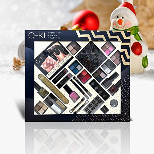 Q-KI Cosmetics Professional Catwalk Collection Make Up Set