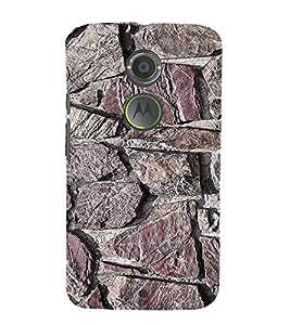 EPICCASE Marble wall Mobile Back Case Cover For Moto X 2nd Gen (Designer Case)