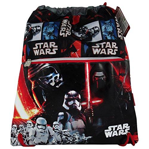 Disney Star Wars Lightsaber Mochilla Bolso Escolar