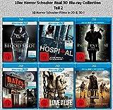 10er Horror Schocker Real 3D Blu-ray Collection Teil 2 (10 Filme in 2D + 3D )