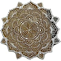 Blumen Indischen Block Handcarved Kunstholzblock Stempeldruck Scrapbook Stempel
