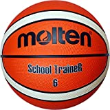 Molten Basketball, Orange/Ivory, 6, BG6-ST