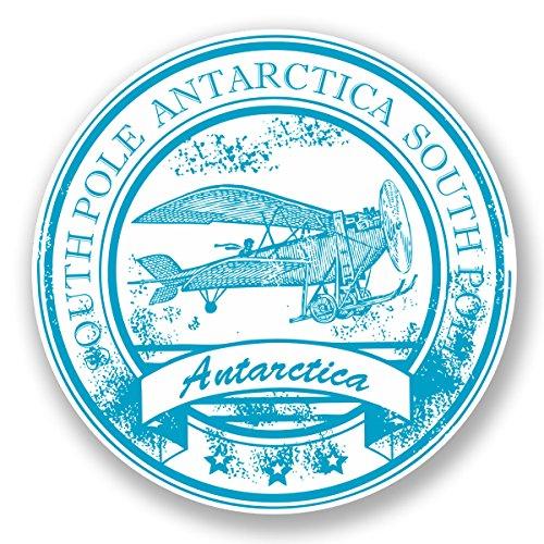 2-x-10cm-antarctica-south-pole-sticker-car-laptop-decal-travel-luggage-tag-5942-10cm-x-10cm